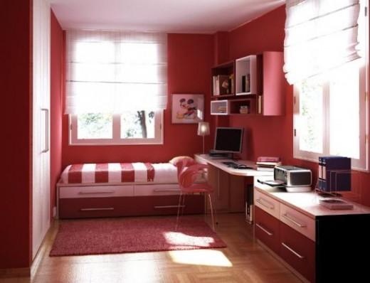Модерн - Стили, подходящие для оформления узкой спальни