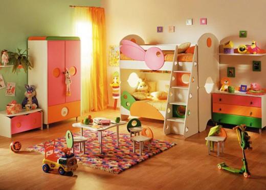 Зона для игр и развлечений в детской