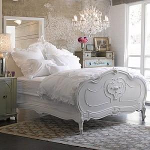Стиль шебби шик в спальне