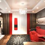 Прямоугольная комната - интерьер и дизайн прямоугольной комнаты